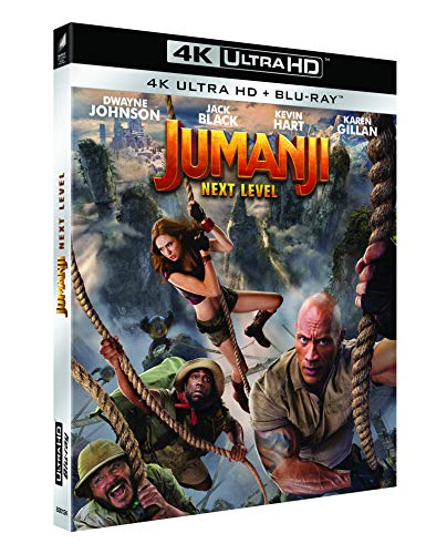 Jumanji : Next Level [4K Ultra HD + Blu-Ray]
