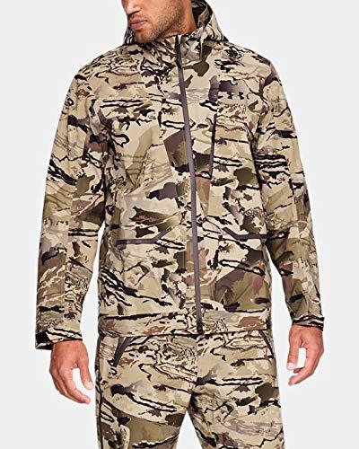 Under Armour Ridge Reaper Gore Pro Shell Jacket, Ua Barren Camo (999)/Black, Large