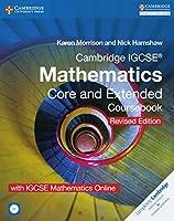 Cambridge IGCSE® Mathematics Core and Extended Coursebook with CD-ROM and IGCSE Mathematics Online Revised Edition (Cambridge International IGCSE)