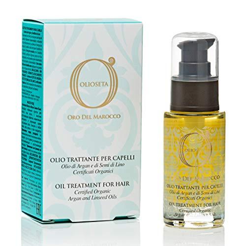 BAREX | Oro del Marocco Olio Trattante | Olio per capelli secchi e crespi | Azione idratante|30 ml