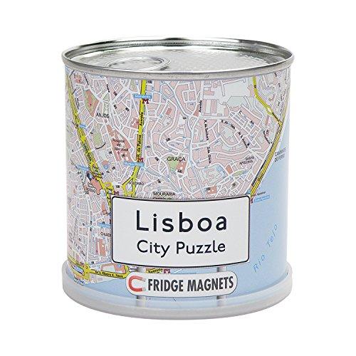 Extra Goods 152775   Puzzle magnético Lisboa