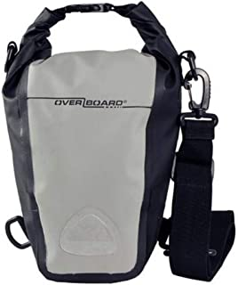 Overboard Pro-Sports Waterproof SLR Camera Bag, 7 Litre Capacity, Black