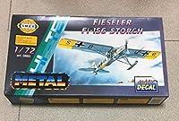 希少 未組立品 SMER セマー HI-TECH フィーゼラ- Fieseler Fi 156 C-3 シュトルヒ ドイツ空軍 エッチングパーツ付属 プラモデル