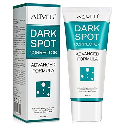 Dark Spot Remover Corrector Cream for Face, Freckle Remover Cream for Body Bikini Area - Black Spot Fade Cream with Niacinamide - Prevent Forming Dark Spots, Fade Spots, Improve Skin Tone
