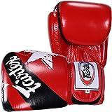 Fairtex Nation orgullo guantes de boxeo - LYSB01MUEGIJ8-SPRTSEQIP, Red Nation