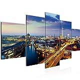 Runa Art - Bilder Berlin 200 x 100 cm 5 Teilig XXL