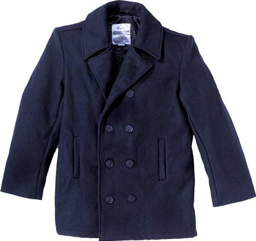 Navy Blue US Navy Sailor Winter Peacoat (Wool) 7270 Size Small