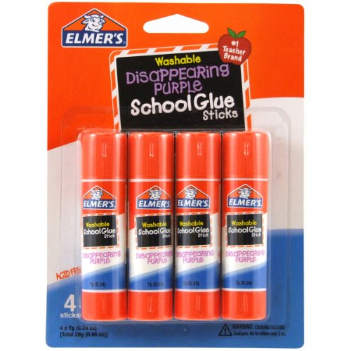 Elmers/X-Acto waschbar Schule Klebestifte, Mehrfarbig, 1,9x 11,43x 15,24cm