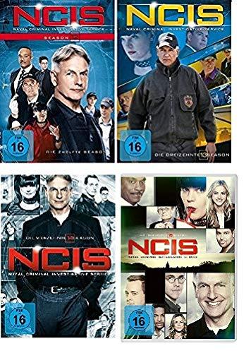 Navy CIS / NCIS Staffel 12+13+14+15 im Set - Deutsche Originalware [24 DVDs]