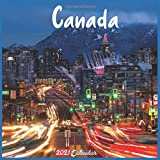 Canada 2021 Calendar: Official Canada Calendar 2021, 18 Months