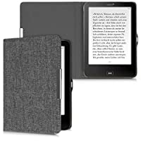 kwmobile 対応: Tolino Vision 1 / 2 / 3 / 4 HD 用 ケース - 布 電子書籍カバー - オートスリープ reader 保護ケース