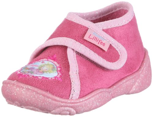 Prinzessin Lillifee Mädchen Nina Hausschuhe, Pink/Rose, 25