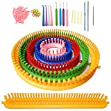 ALIMELT Round Knitting Loom Set Long Knitting...