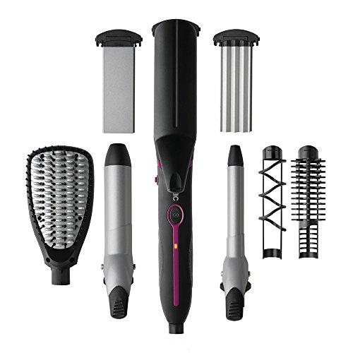 Multistyler de Solac Expert Total Style - Moldeador 7 en 1, calentamiento rápido y uniforme. Una herramienta para múltiples peinados.