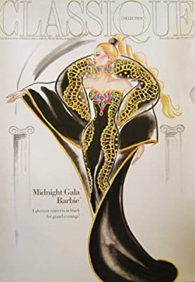 Mattel - Midnight Gala Barbie Doll 1995