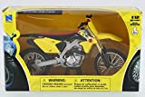 New Ray Suzuki RM-Z450 Dirtbike, Yellow w/ Black 57643 - 1/12 Scale Vehicle Replica