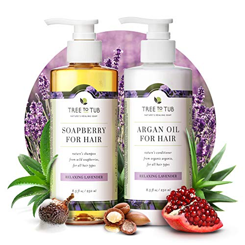 Gentle Argan Oil Shampoo & Conditioner by Tree to Tub