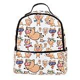 KAMEARI Mochila de buceo cerdos casual mochila para viajes con...