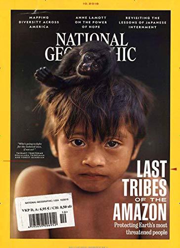 National Geographic USA [Abonnement jeweils 12 Ausgaben jedes Jahr]