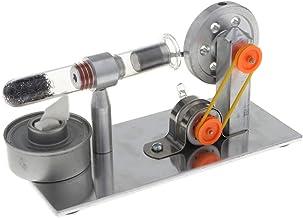 B Blesiya Motor Stirling de Generador de Electricidad Conversión de Trabajo Mecánico a Eléctrico Herramienta de Enseñanza Escolar