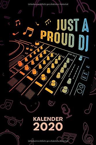 KALENDER 2020: A5 Party Terminplaner für DJ mit DATUM - 52 Kalenderwochen für Termine & To-Do Listen - Discjockey Terminkalender Mischpult Jahreskalender EDM Musik