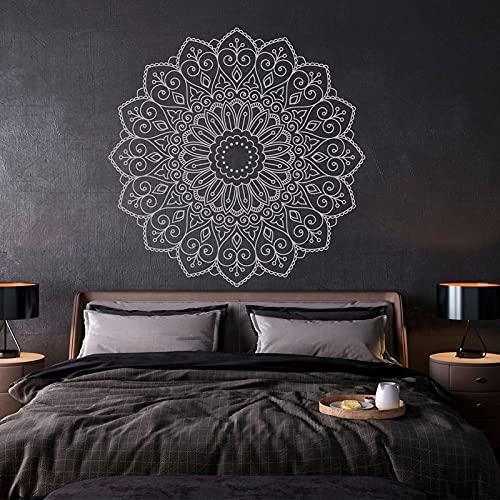 Diseño creativo Calcomanías de pared bohemias Decoración del hogar Sala de estar Dormitorio Yoga Estudio Decoración Pegatinas Mural extraíble A9 57x57cm