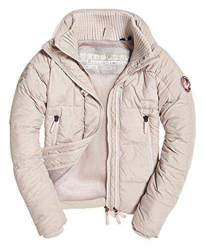 Superdry Soft Tech - Cortavientos, color gris