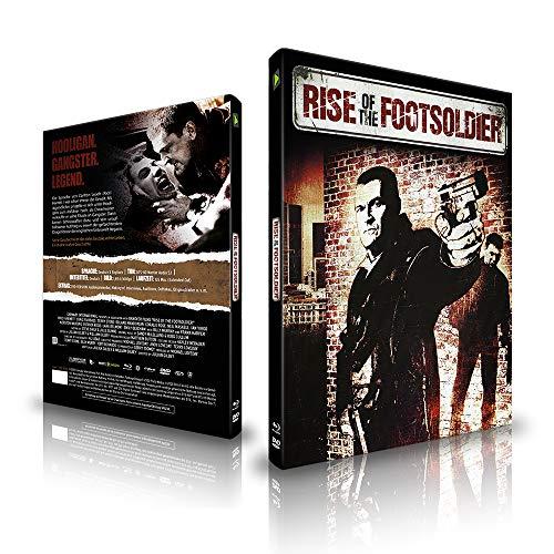 Rise of the Footsoldier - Limited Mediabook Edition (Neue Freigegebene Fassung) Deutsch - DVD - Blu-ray