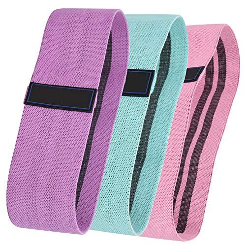 Fybida Cinturón elástico Duradero Cinturón de Resistencia a la Aptitud Accesorio de Yoga Correa Gruesa para la Cadera Látex Sentadilla Profunda Suave para Cuerpo Medio Radical