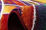 Paco Home Teppich Modern Designer Teppich Bunter Farbmix Gemustert Mehrfarbig, Grösse:120x170 cm - 3