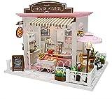 Miniatur DIY Puppenhaus,DIY Mini House Cocoa Wundervolle Gedanken Haus Puppenhaus Kit Für...
