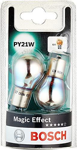 Lámparas Bosch para vehículos Magic Effect PY21W 12V 21W BAU15s (Lámpara x2)