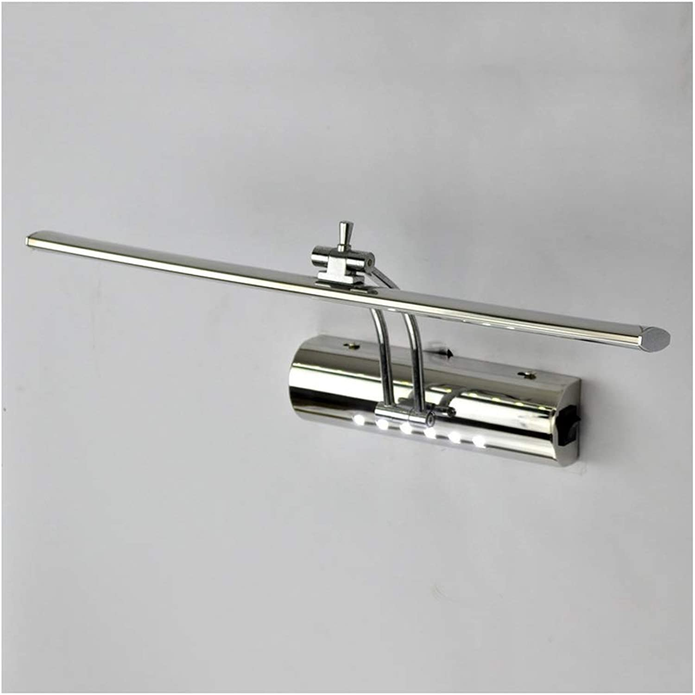 Spiegel Frontleuchte - Wandleuchte Led Edelstahl Moderne Minimalistische Badezimmerspiegel Lampe Badezimmerspiegelschrank (ausgabe   Weies Licht-40 cm)