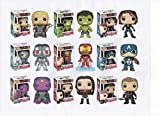 "Marvel Avengers Series Two 3.75"" Pop 9PC Figure Set Thor Hulk Black Widow Ultron Iron Man Mark 43 Captain America Vision Scarlet Witch & Hawkeye -  Funko"