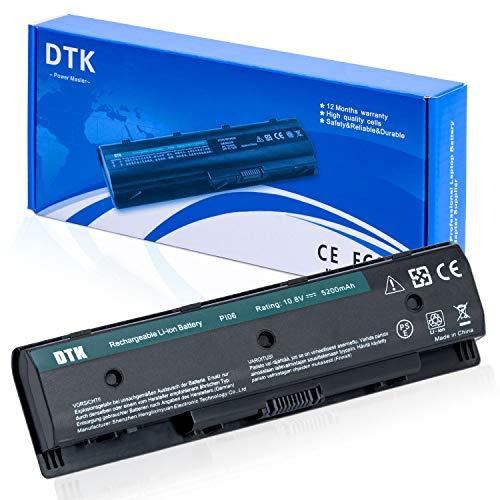 DTK Laptop Akku für HP Pavilion 14-E000 15-E000 17-E000 17-E100 Envy 15 15T 15Z 17 17Z M6-N010DX M7-J120DX Notebook PI06 P106 710416-001 710417-001 Akkus 10.8v 5200mah