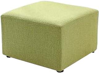 Alien Storehouse Tissu carré à la Mode Moderne Petit Tabouret Table Tabouret canapé Tabouret Tabouret Ottoman, E