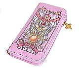 Ruotong Pink Wallet Handbag Pink (Economic Leather)