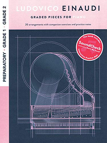 Ludovico Einaudi - Graded Pieces for Piano: Preparatory - Grade 2