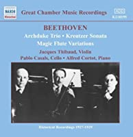 Great Chamber Music Recordings by Beethoven (2006-08-01)