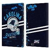 Head Case Designs Licenciado Oficialmente NFL Casco Distressed Look 100th Carolina Panthers Logo Art...