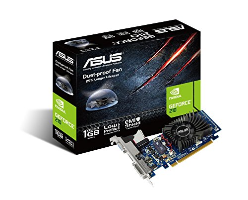 Asus NVidia 210, 1GB DDR3 PCI-Express 2.0 x16 Graphics Card, Model 90-C1CS40-L0UANAYZ. Although Physically a Low Profile Card This Does NOT Ship with LP Brackets,only Full Height.
