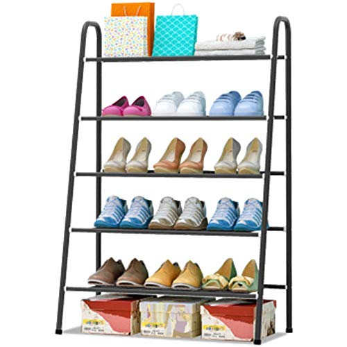 Inicio Equipo Estante para zapatos Soporte para soporte con tubos de electroforesis engrosados Almacenamiento de zapatos ajustable y resistente Estante para zapatos Estante para organizador Estan