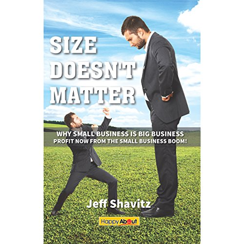 Size Doesn't Matter audiobook cover art
