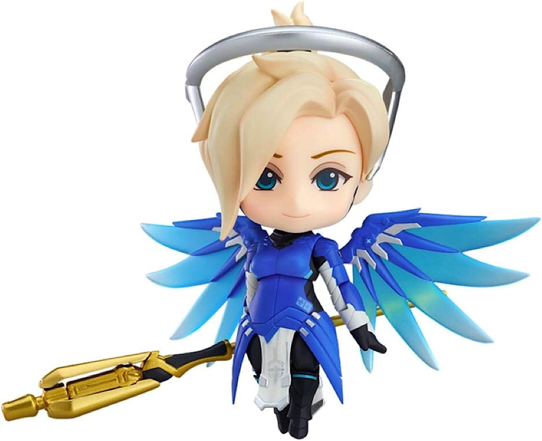 Good Smile Overwatch  Mercy (Cobalt bluee Skin) Nendgoldid Posable Action Figure