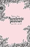 Teeny Tiny Academic Planner August 2020-July 2021: On-the-Go Weekly and Monthly Student Journal | August 2020 - July 2021 Agenda| Black and White Minimalist Design