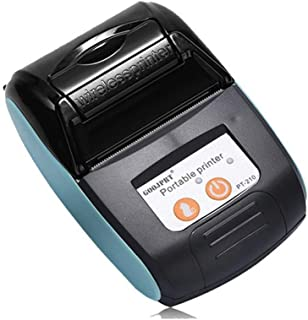 DJG 58Mm Bluetooth Thermal Label Printer, Portable Mini Mini Ticket Thermal Hand-Held, Used for Barcode, Office, Label, Printing