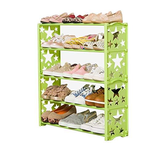 Diaod Zapatero Infantil, Ensamblado Simple bebé hogar de Materiales plásticos Multicapa Linda Mini-Rack de Zapatos