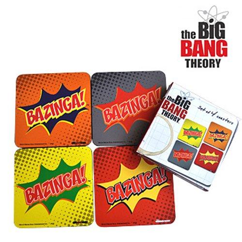 The Big Bang Theory Bazinga sous-verres