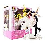 Yzoncd Anime Sailor Moon Tsukino Chiba Mamoru Bailando con Máscara Chouette Figura De Juguete 22 Cm,...