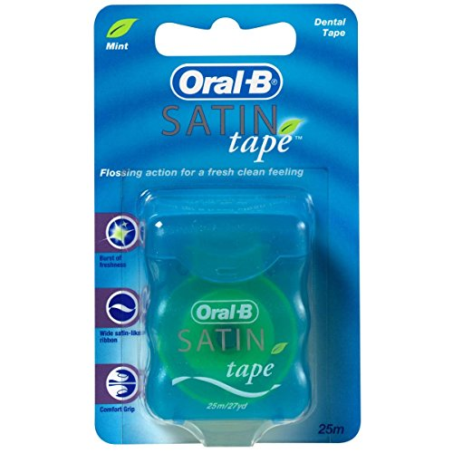Oral-B SatinTape mint Zahnseide 3er Pack (3x 25m)